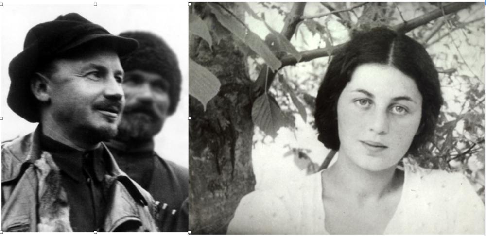 Separados por el terror staliniano: Nikolai Bukharin (1888-1938) y Anna Larina (1914-1996)