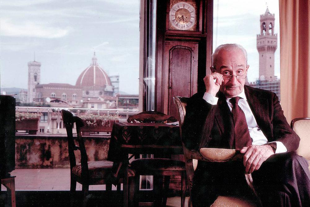 Giovanni Sartori, Premio Príncipe de Asturias (2005) y Profesor Emérito en la Universidad de Columbia (EEUU).