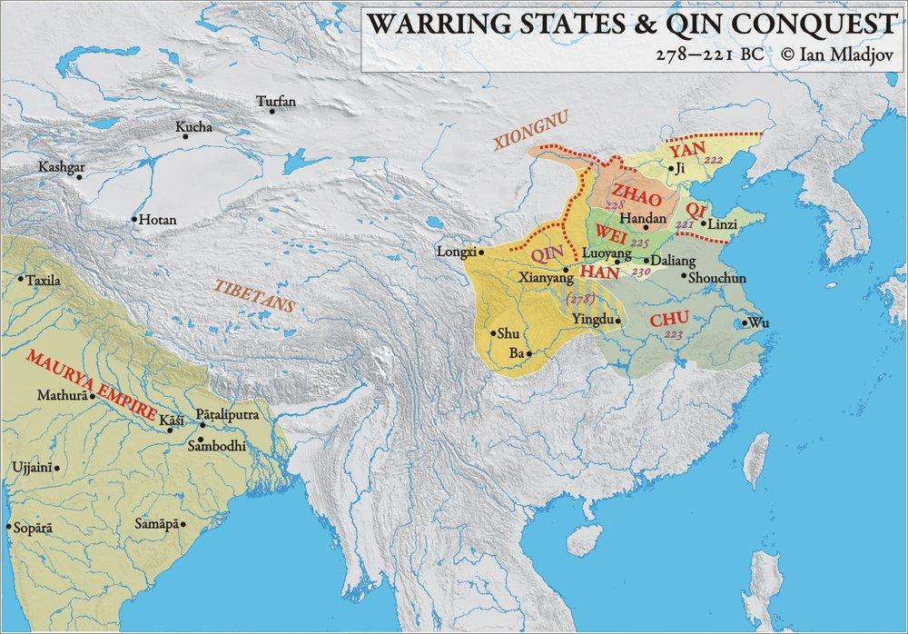 Los Estados combatientes