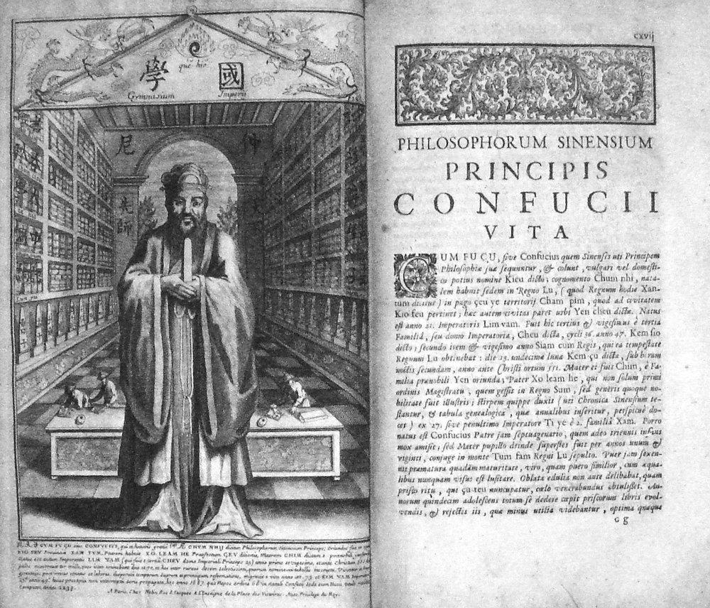 La obra de Confucio traducida por el jesuita Prospero Intorcetta (1626-1696)