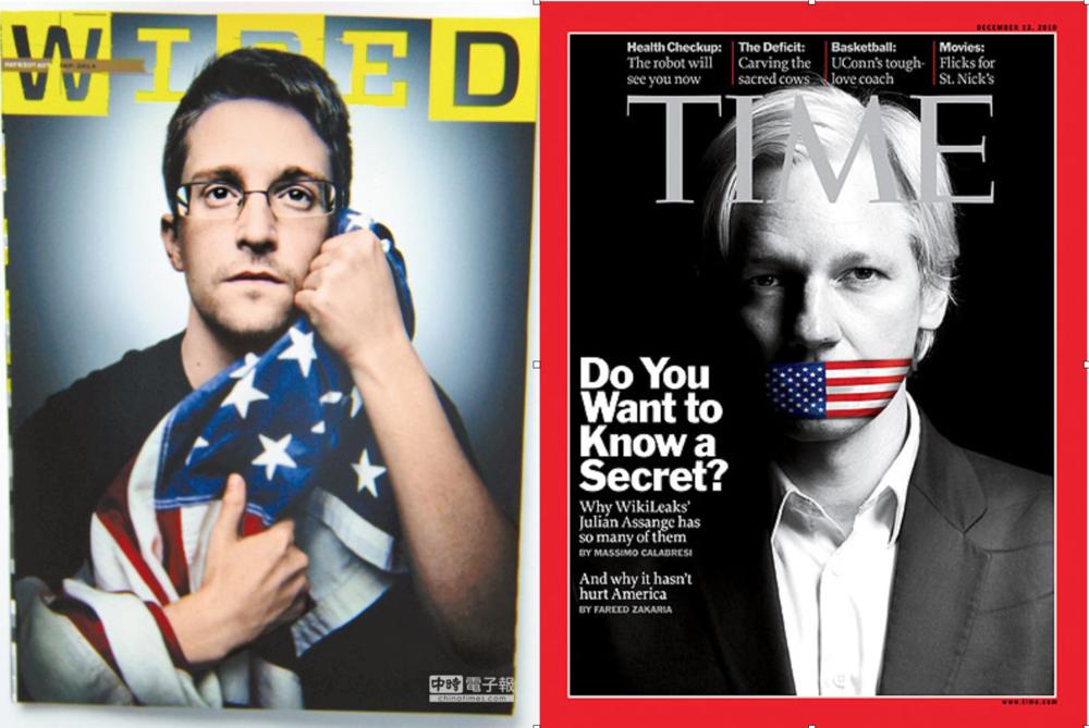 Snowden y Assange