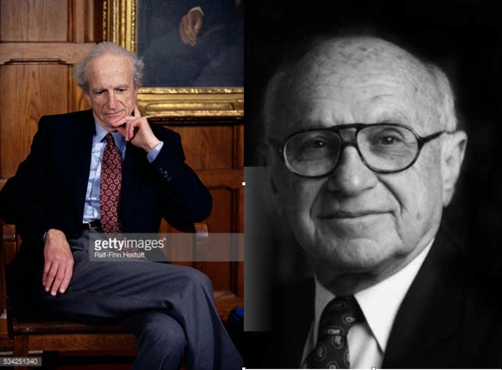Gary Becker y Milton Friedman