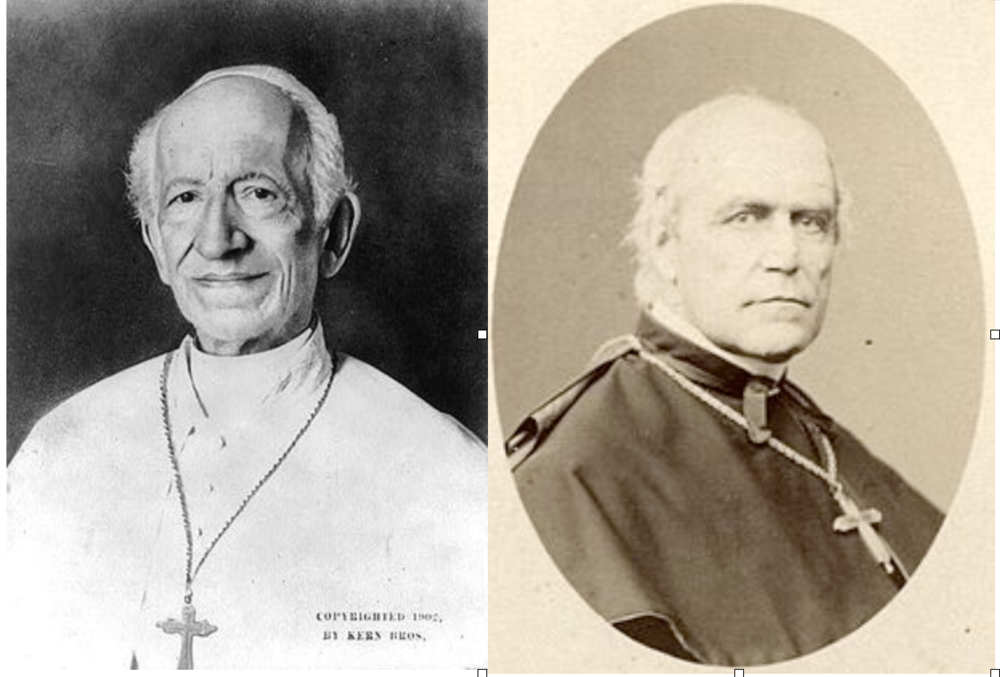 León XIII y Emmanuel von Ketteler