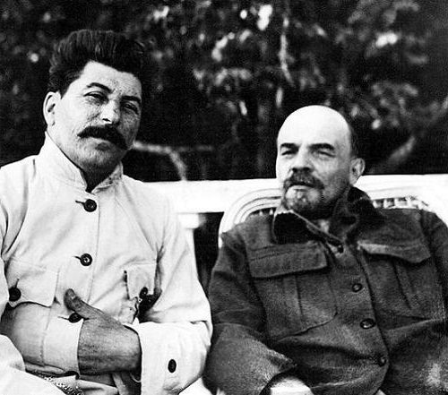 Stalin y Lenin