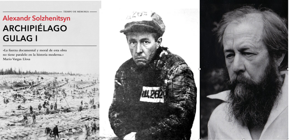 Para los comunistas fue solo un número (282) pero tras sobrevivir al gulag (campos de concentración soviéticos) Solzhenitsyn fue uno de los primeros en denunciar el sistema comunista.