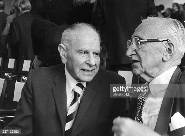 Popper y Hayek, dos austriacos que vivieron el totalitarismo nazi