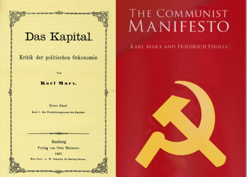 """¿Cuál de estos libros ha sido el más inspirador? ¿La compleja lectura de """"El Capital? ¿La fácil lectura del Manifiesto?"""