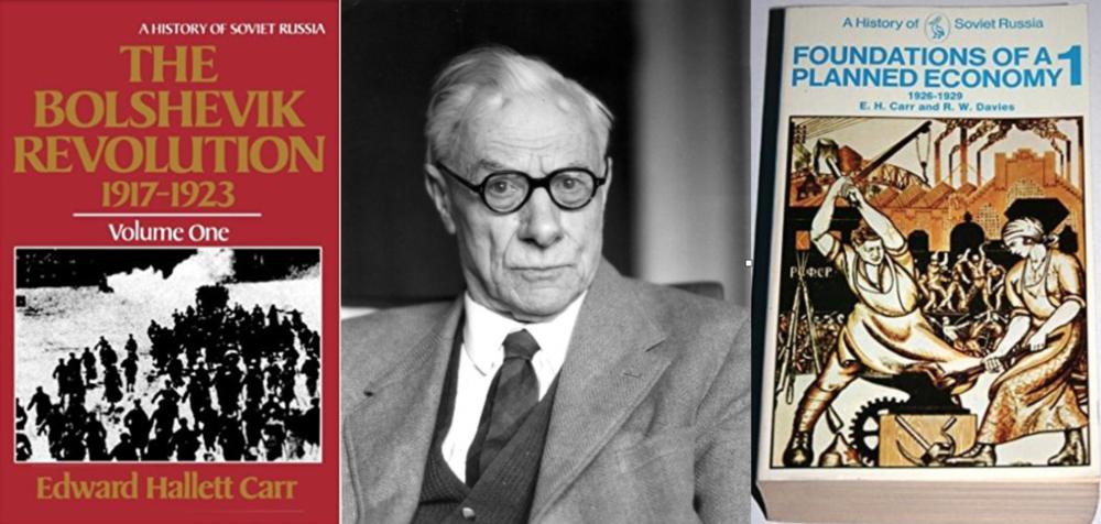 E.H Carr. Diplomático, periodista e historiador.