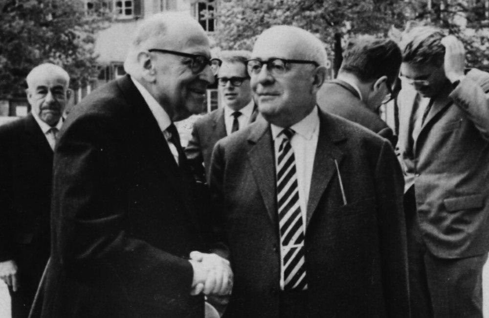 Dos emblemáticas figuras de la Escuela de Frankfurt: M Horkheimer y T. W. Adorno