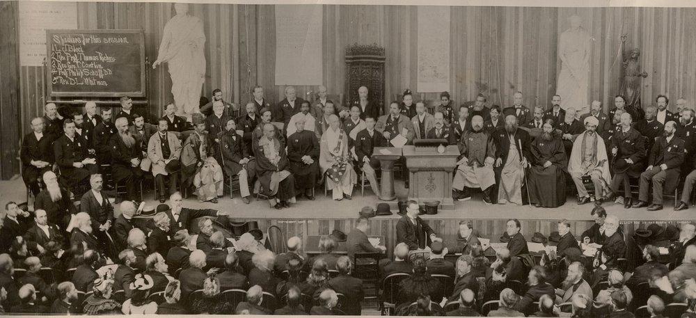 Parlamento Mundial de las Religiones en 1893