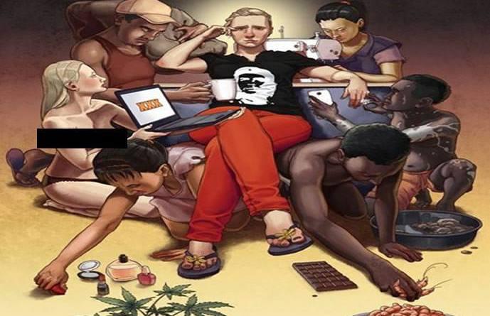 El joven progresista carga todo el peso de los sufrimientos humanos