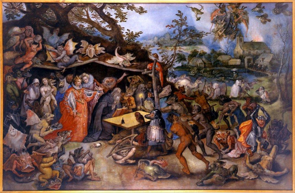 Las tentaciones de San Antonio,Jan Brueghel el Viejo (1568-1625)