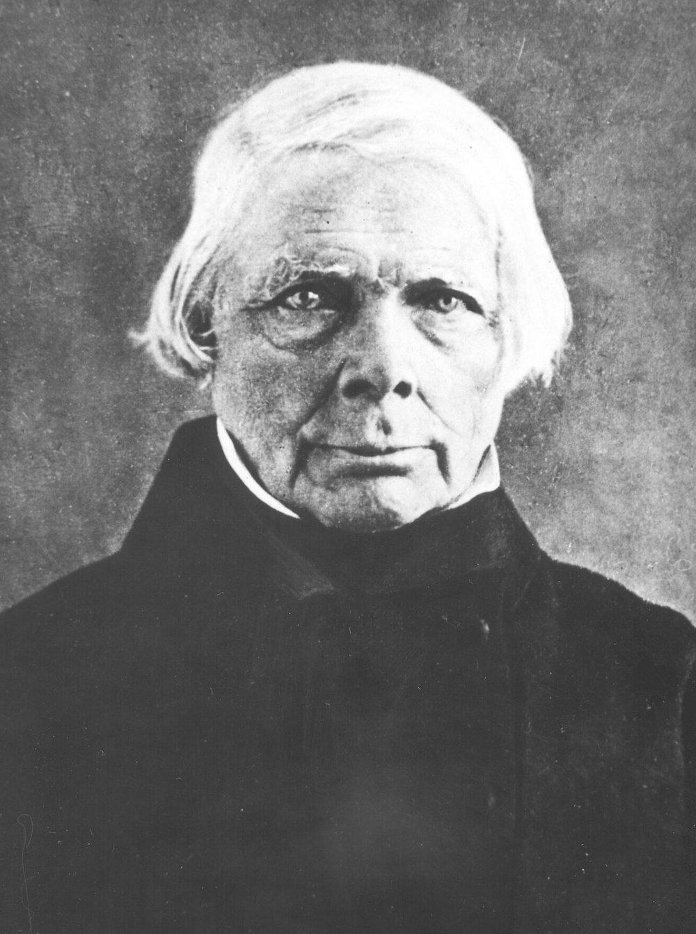 Daguerrotipo de Friedrich Schelling (1775-1854)