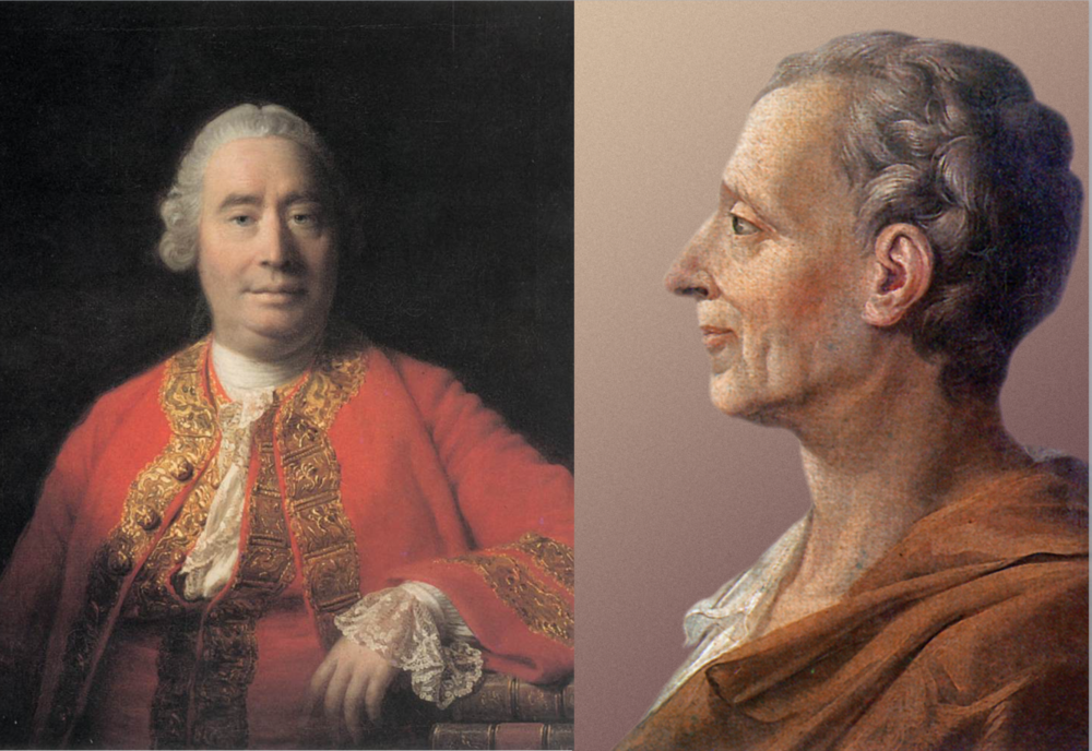 Hume y Montesquieu