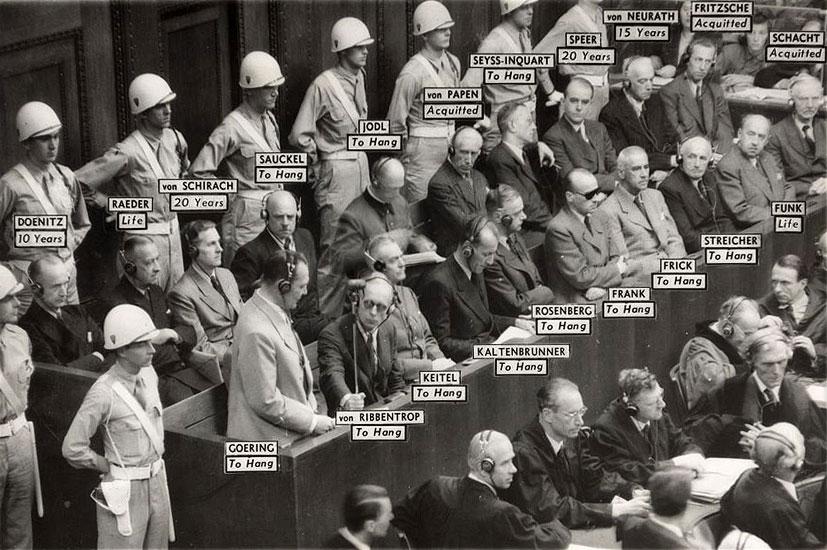Algunas figuras de alto perfil del régimen nazi
