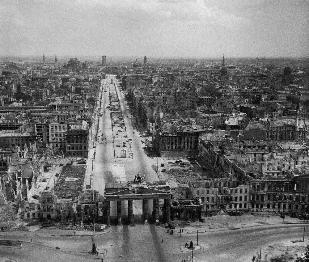 Berlin al finalizar la guerra