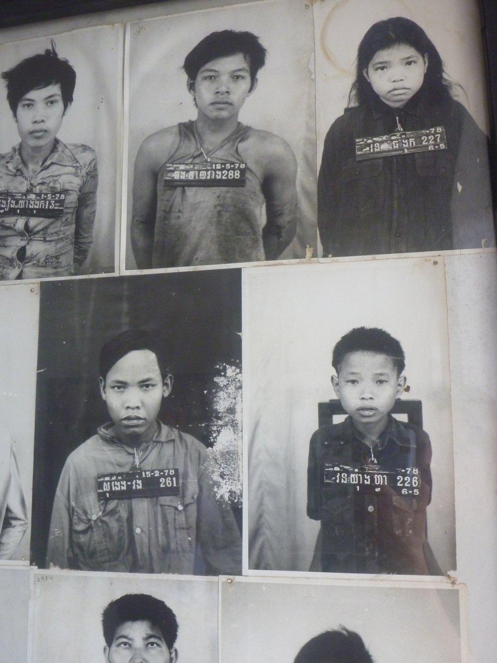 Víctimas (prisión de Tuol Sleng)