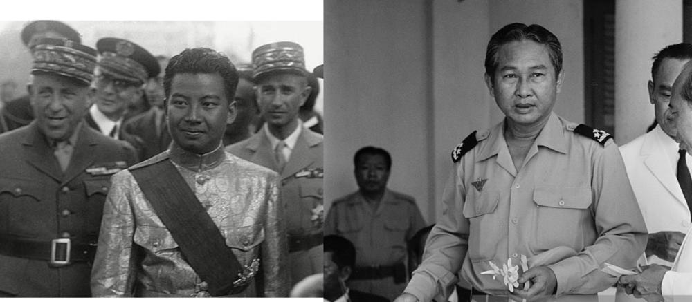 Príncipe Shinaouk y Lon Nol