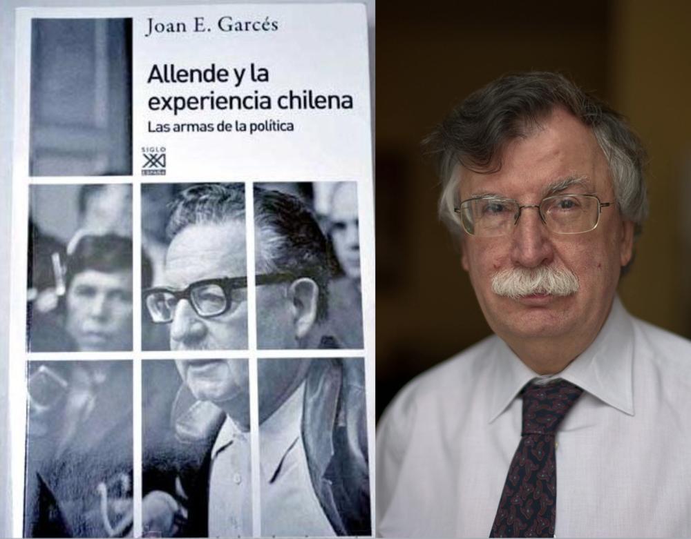 Joan Garcés (1944) fue un estrecho colaborador y asesor de Salvador Allende
