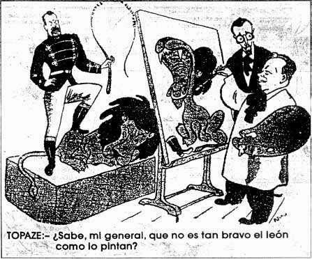 """El """"León"""" (Alessandri) domado por Ibáñez del Campo"""