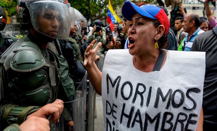 La falta de libertad en Venezuela y el hipercontrol estatal de la economía se traducido ene escasez generalizada