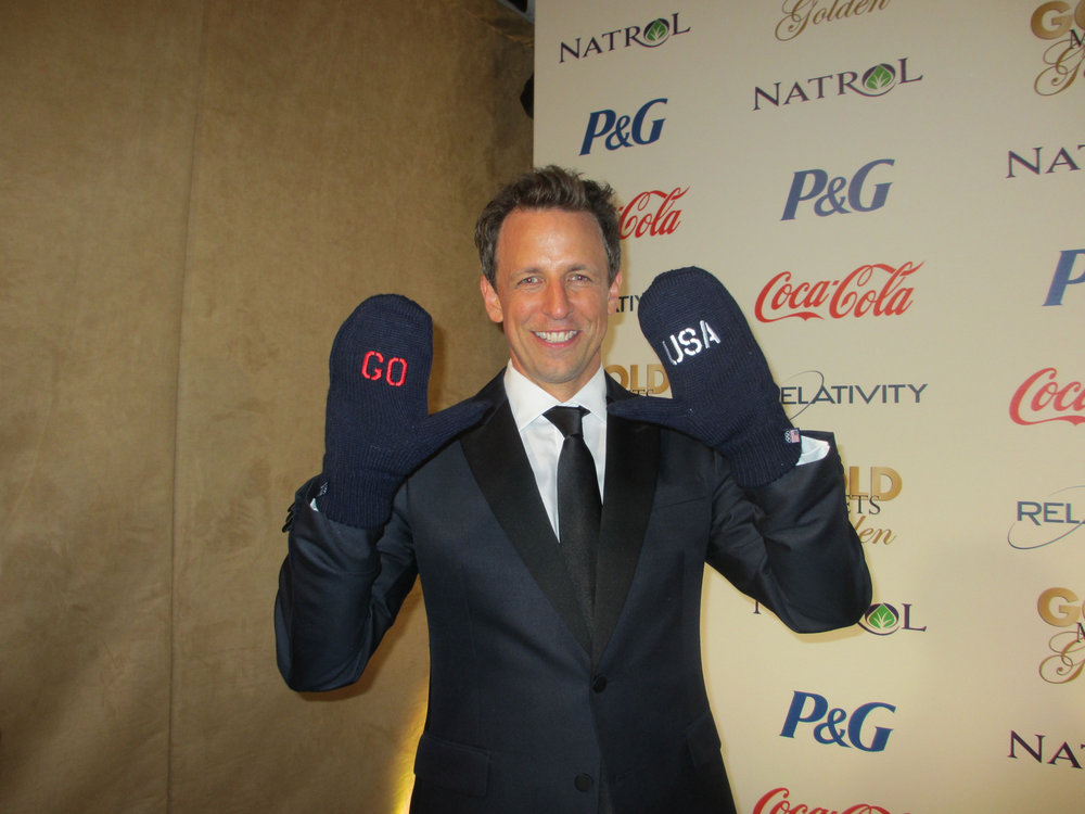 Seth Myers dons Go Team USA Mittens.jpg