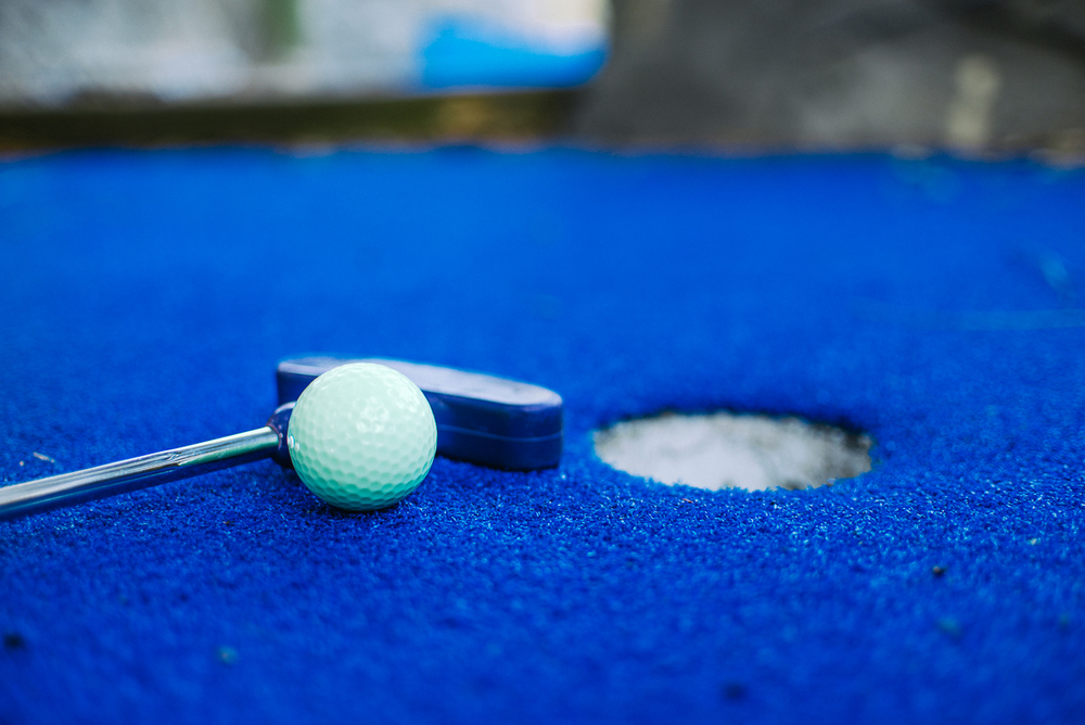 Adventure Cove in Hilton Head Island (Putt Putt Golf) | Commercial Photography | Small Business Branding