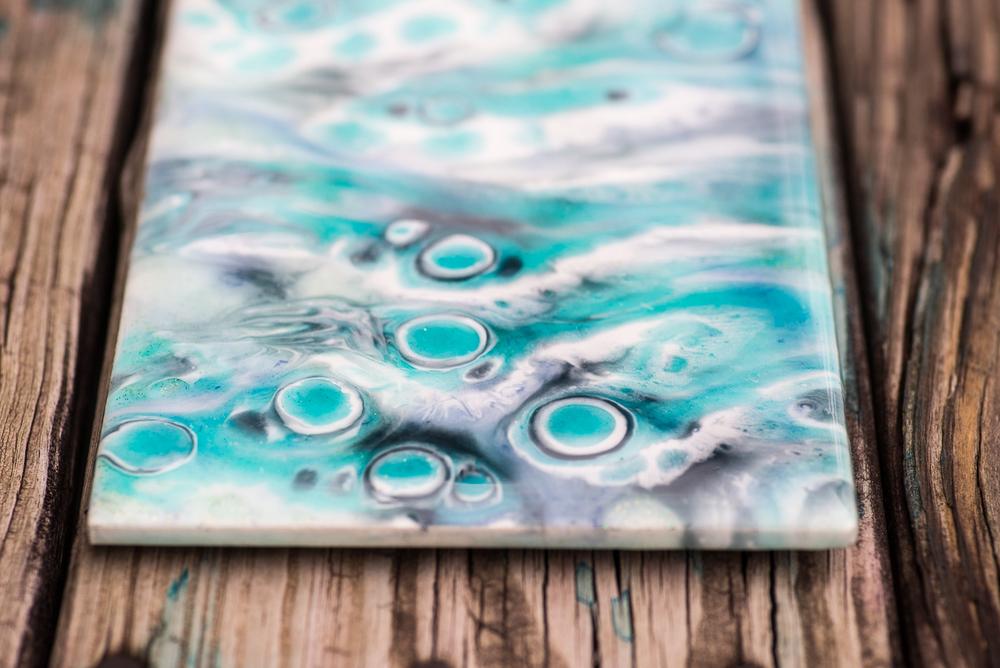 Resin Art Painting Macro in Knoxville, TN Artist   Shii Kaina or Aloha Shii