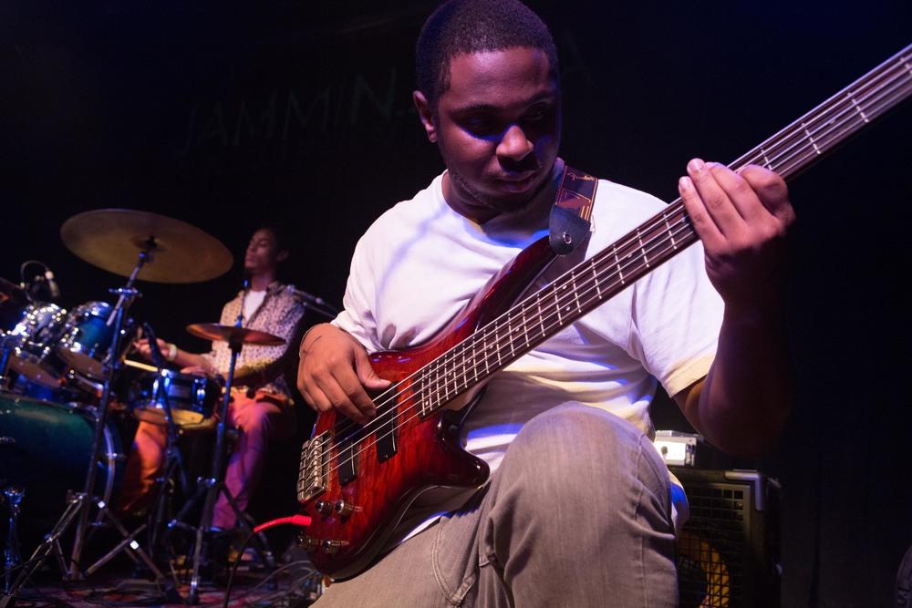 Tarfu's Bassist Rocking Out