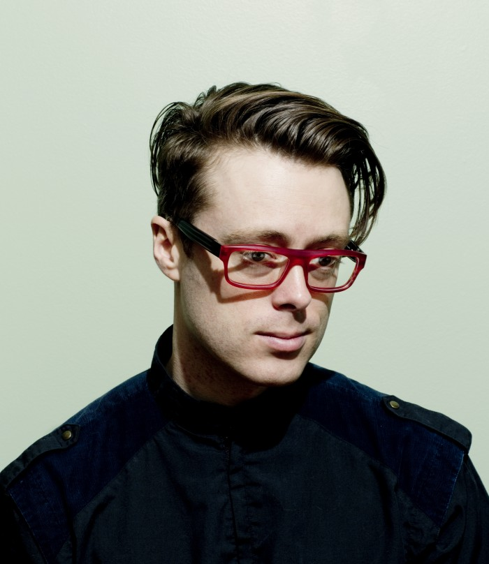 Musician Jeremy Messersmith photographed in his home in Minneapolis MN April 24th 2013