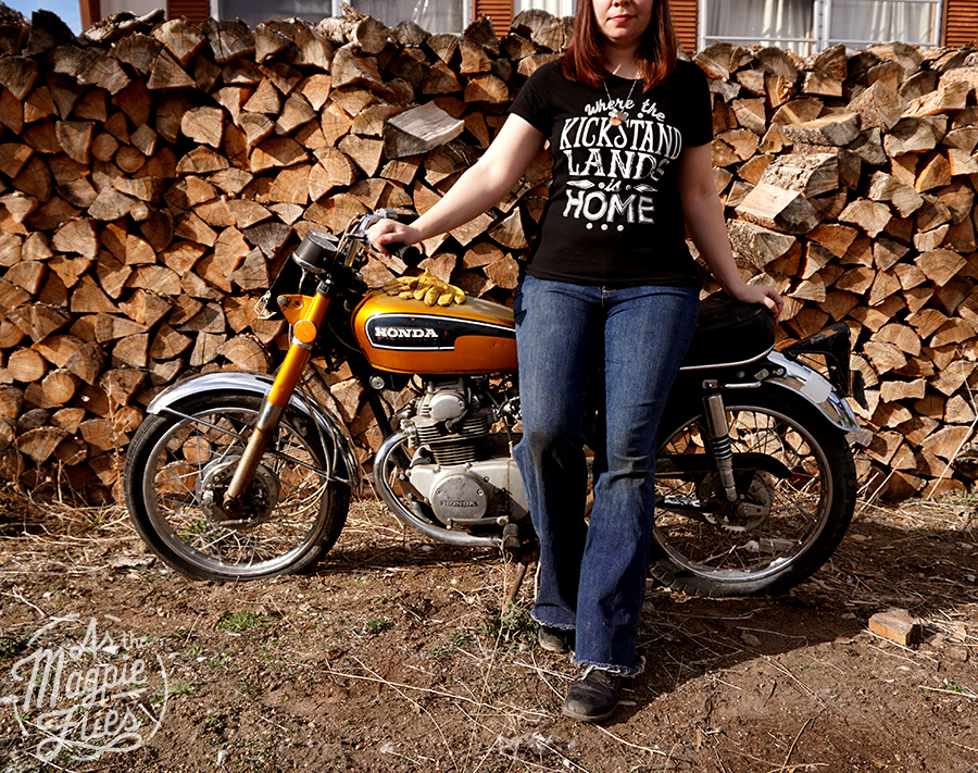Where the Kickstand Lands is Home.     Get your Shirt Here.
