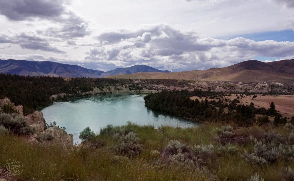 Clark Fork River, North of Plains, MT