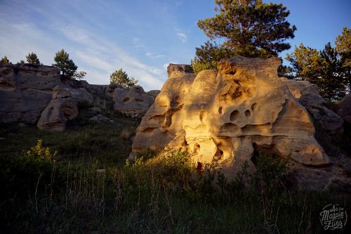 Medicine Rocks State Park, Montana