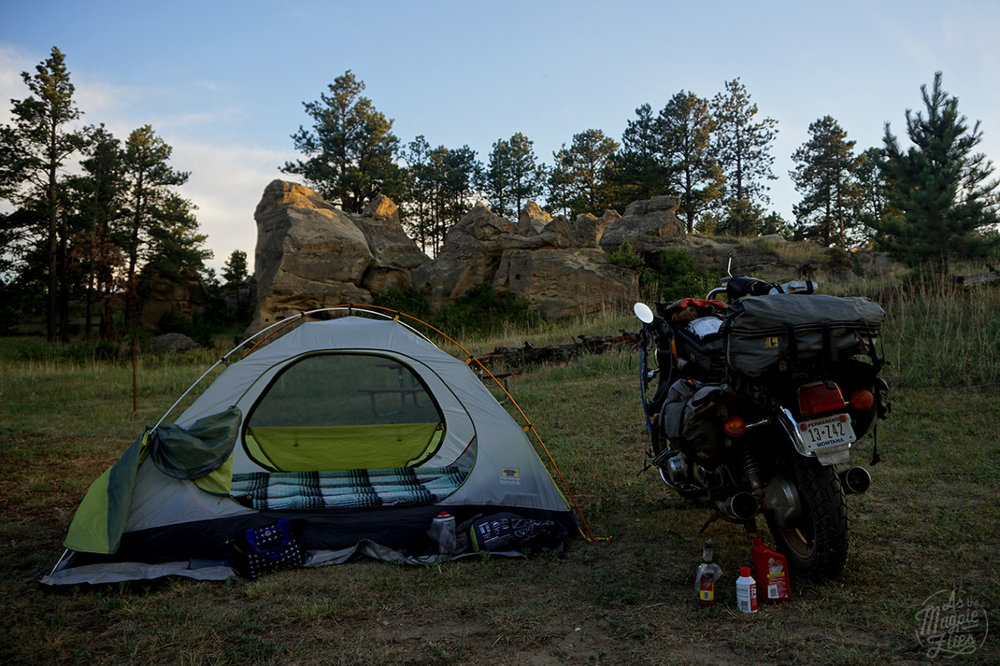 By far one of my favorite places I have ever camped. Medicine Rocks State Park, Montana