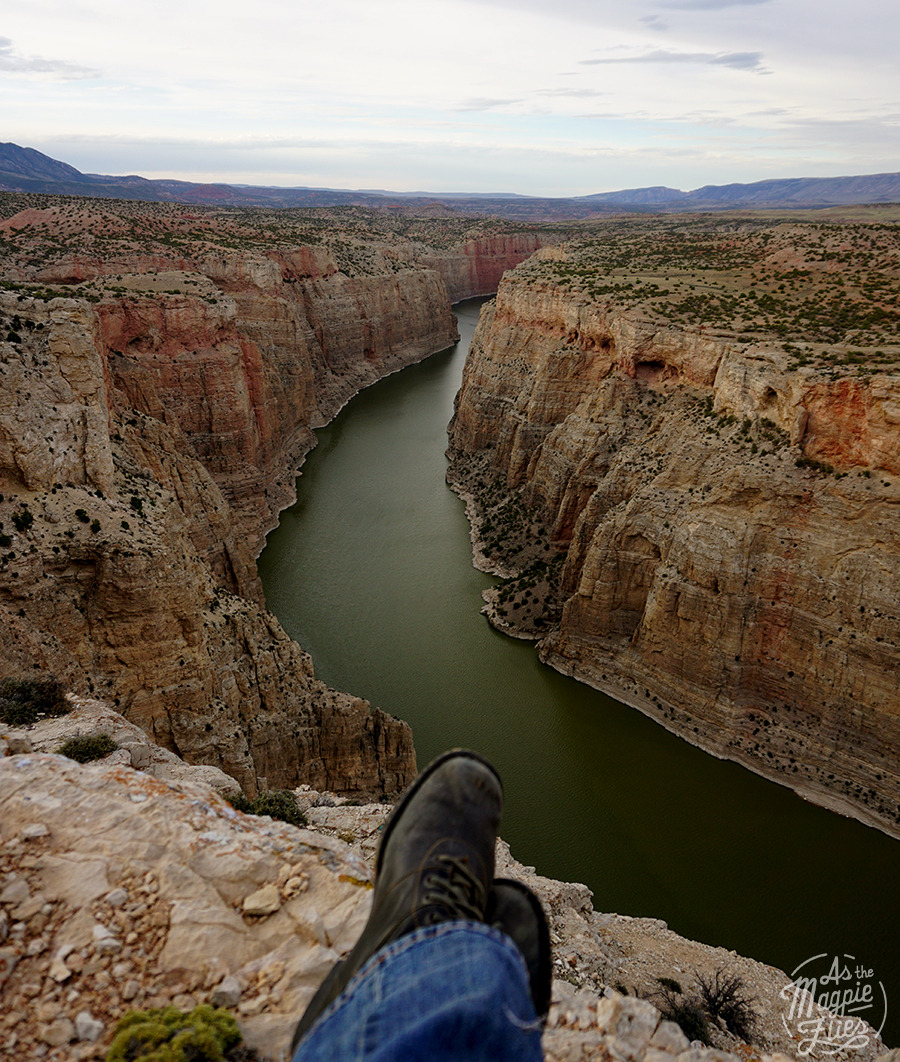 Devil's Canyon Overlook, Bighorn Canyon National Recreation Area, MT/WY