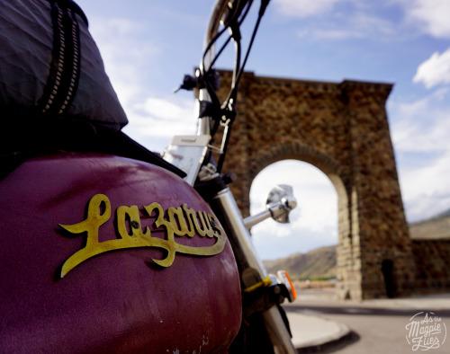 Roosevelt's Arch, Gardiner, MT