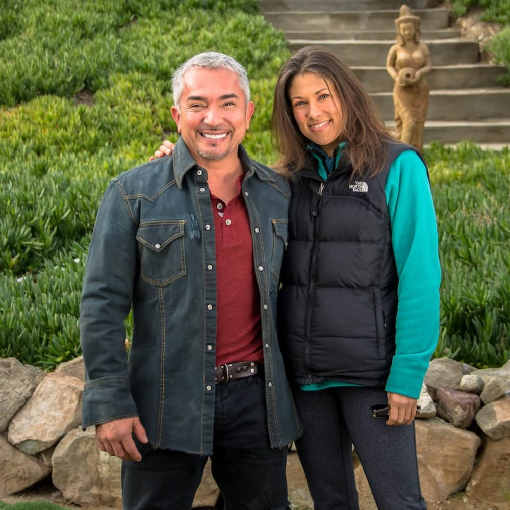 Kimberly Artley with Cesar Millan the Dog Whisperer