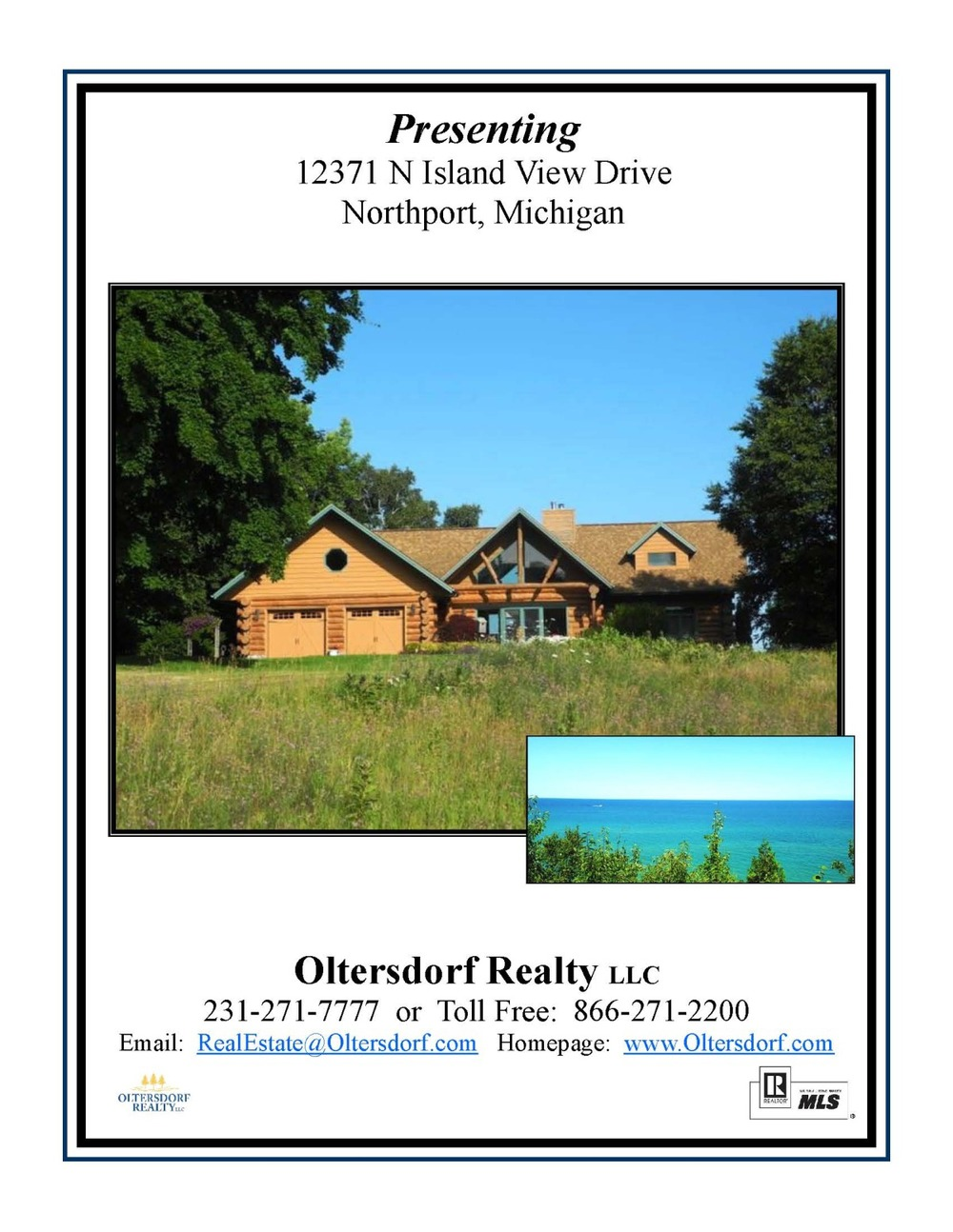12371 n island view drive, northport, leelanau county with lake michigan water views for sale by oltersdorf realty llct_page_01.jpg