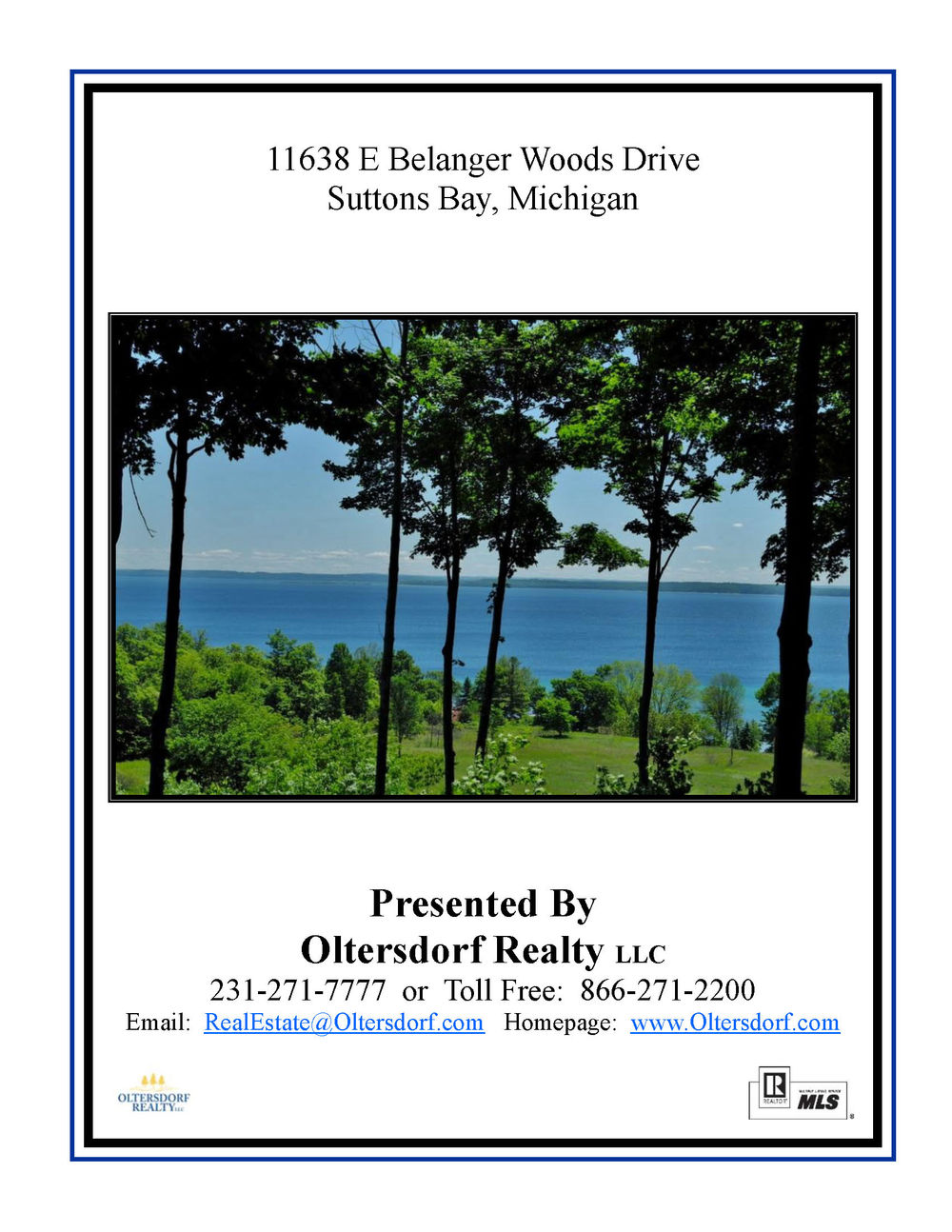 11638 E Belanger Woods Drive, Suttons Bay, MI, Leelanau County vacant land with water views of Grand traverse Bay, for sale by Oltersdorf Realty LLC, Leelanau County Realtors Vicky & Jonathan Oltersdorf marketing packe (24).jpg