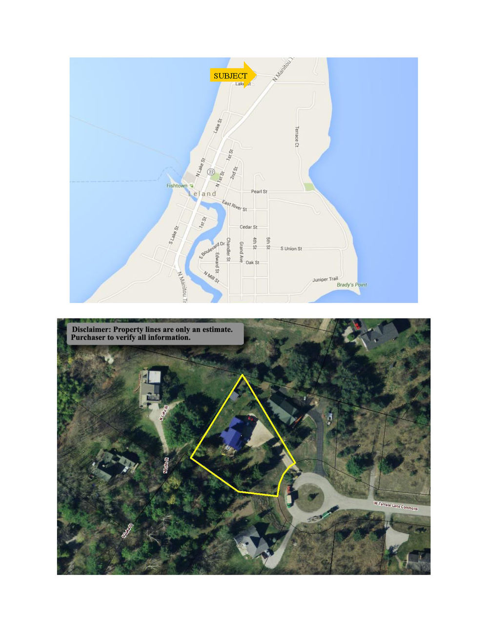 110 W Terrace Lane Commons, Leland, Leelanau County, Real Estate For Sale by Oltersdorf Realty Marketing Packet (7).jpg