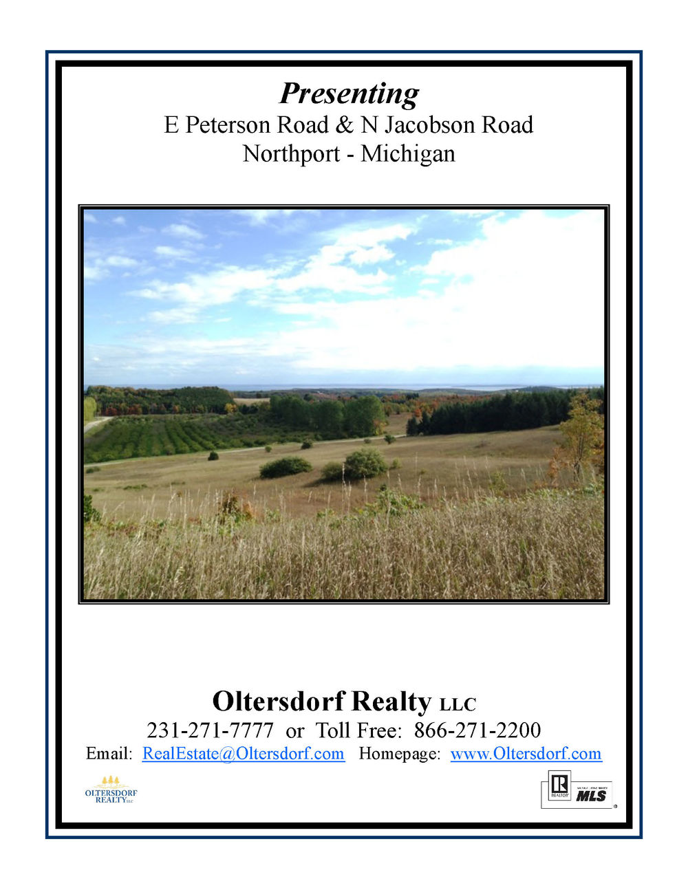 E Peterson Road & N Jacobson Road, Northport, water view acreage for sale by Oltersdorf Realty LLC (1).jpg