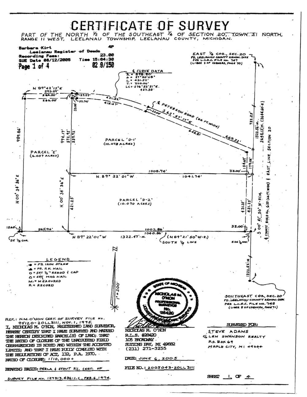 E Peterson Road & N Jacobson Road, Northport, water view acreage for sale by Oltersdorf Realty LLC (8).jpg