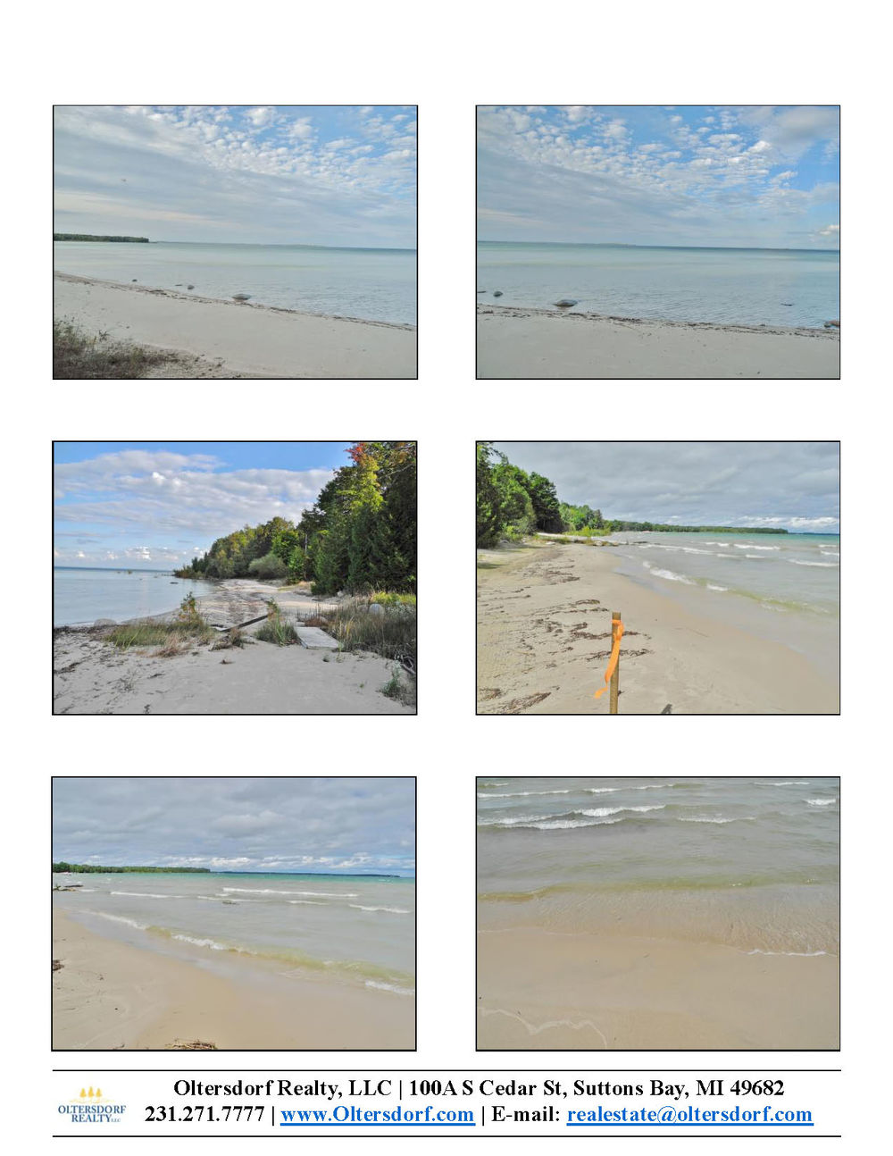 7156 N W Bay Shore Drive, Northport, MI Vacant waterfront lot for sale by Oltersdorf Realty LLC Marketing Packet (2).jpg
