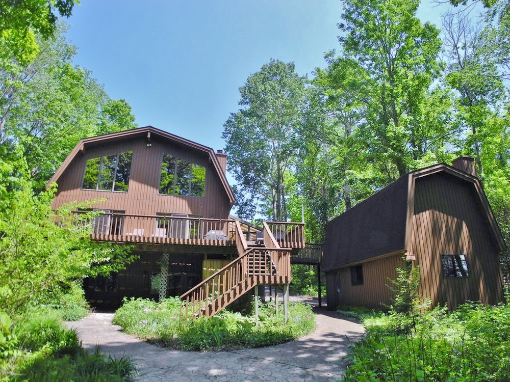 2736 S Lake Leelanau Dr, Lake Leelanau, 100' of private frontage on South Lake Leelanau for sale by Oltersdorf Realty LLC (2).JPG