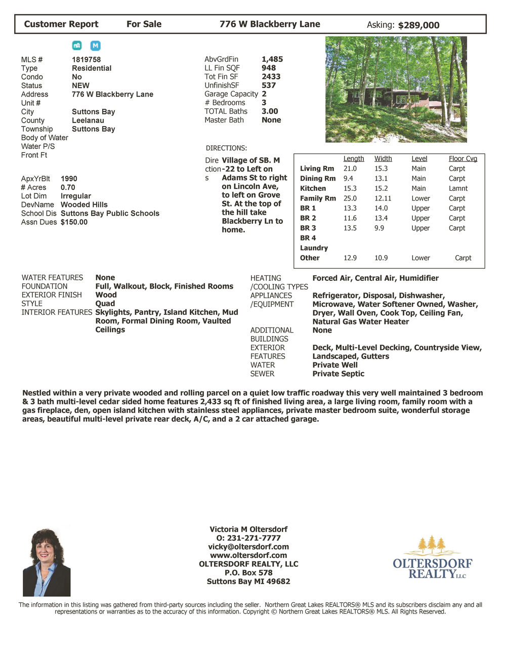 776 W Blackberry Lane, Suttons Bay, MI – Village of Suttons Bay Home For Sale by Oltersdorf Realty  Marketing Packet (6).jpg