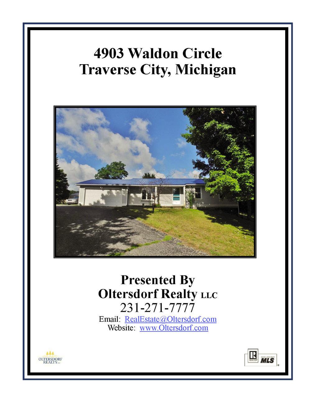 4903 Waldon Circle, Traverse City, MI – 3 Bedroom & 2 Bath Ranch Home for sale by Oltersdorf Realty LLC marketing packet (1).jpg