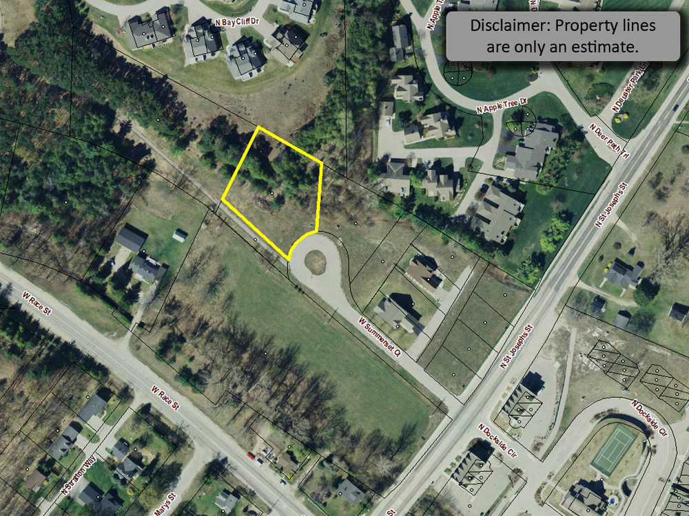 254 W Summerset Court, Village of Suttons Bay vacant lot for sale by Oltersdorf Realty, Suttons Bay Realtors (1).jpg