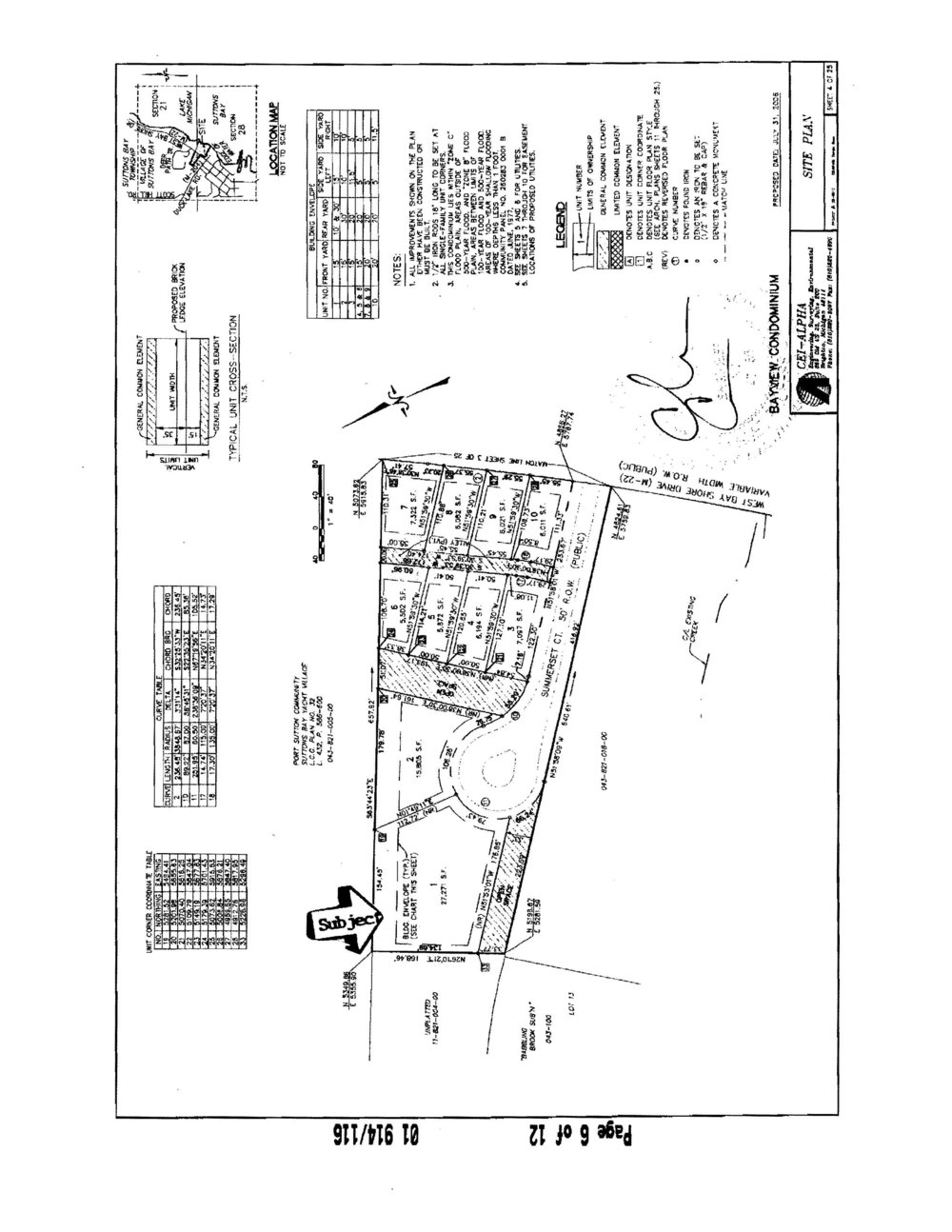 254 W Summerset Court, Village of Suttons Bay vacant lot for sale by Oltersdorf Realty, Suttons Bay Realtors - Marketing Packet (6).jpg