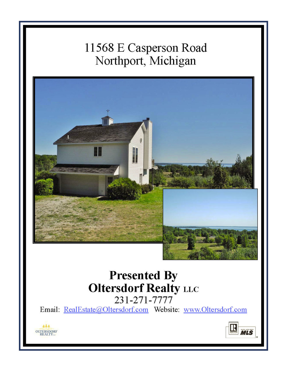 11568 E Casperson Road, Northport – For Sale by Oltersdorf Realty LLC, Leelanau County Realtors - Marketing Packet (1).jpg