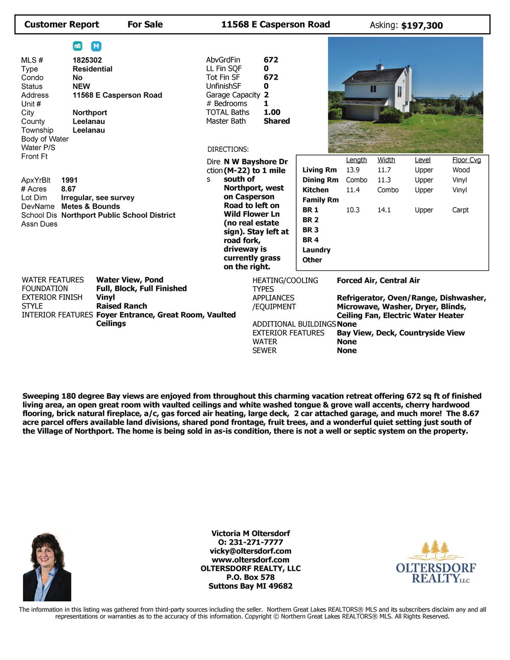 11568 E Casperson Road, Northport – For Sale by Oltersdorf Realty LLC, Leelanau County Realtors - Marketing Packet (7).jpg